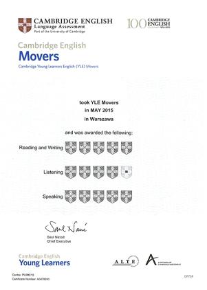 Jak mogę odebrać certyfikat Cambridge English